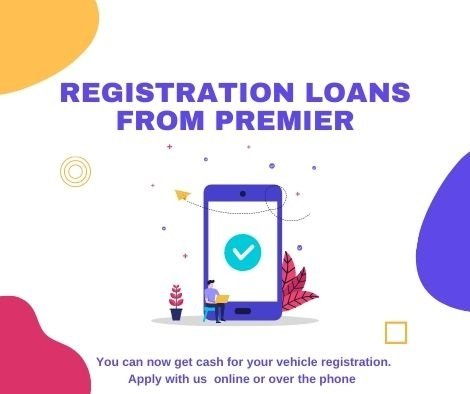 We will work to get your registration loan funded quickly.